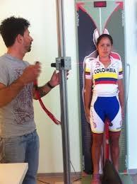 Rilevamento quote antrompometriche Nazionale Colombiana Donne 2013 by Giulio Galleschi Biomeccanico